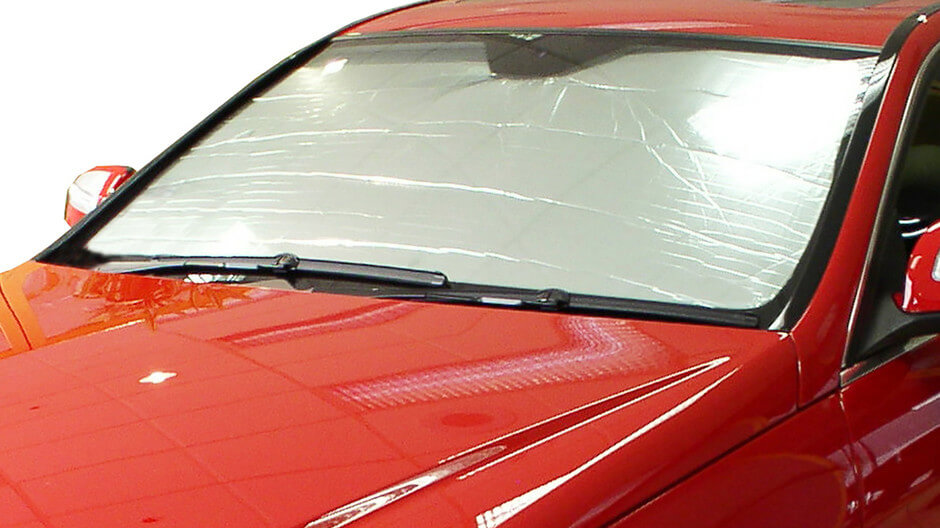 Sun Blocker For Car >> Heatshield The Original Auto Sunshade Silver Series