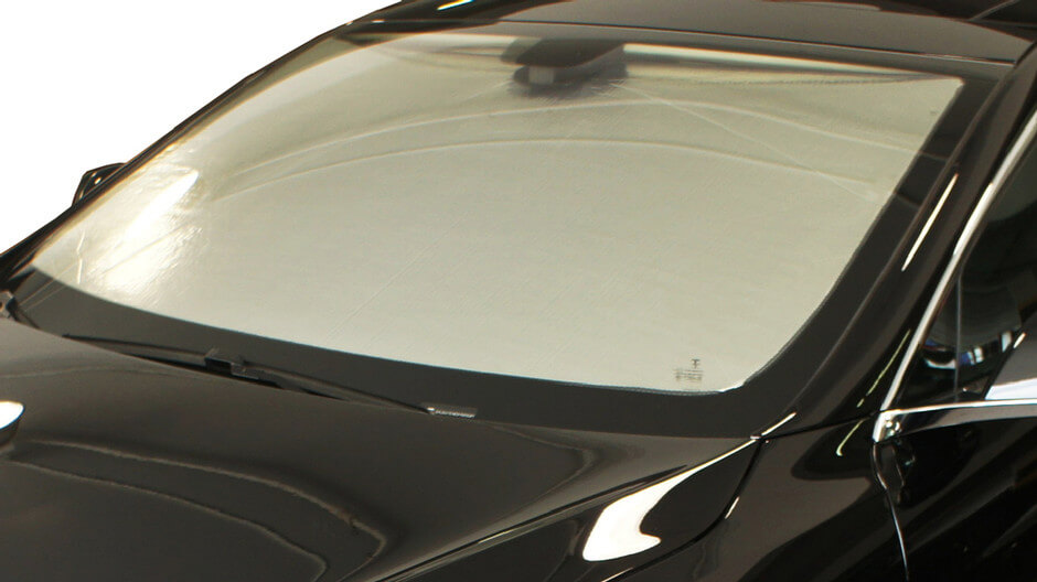 HeatShield The Original Auto Sunshade, Silver Series