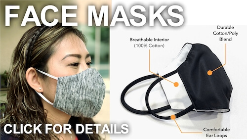 Face masks now available for purchase. Click here.