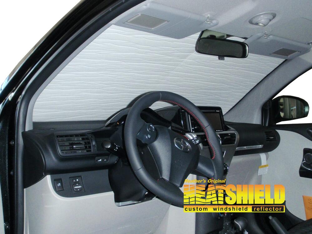 Custom-fit Windshield Sun Shade AutoTech Zone Sunshade for 2012-2015 Scion IQ