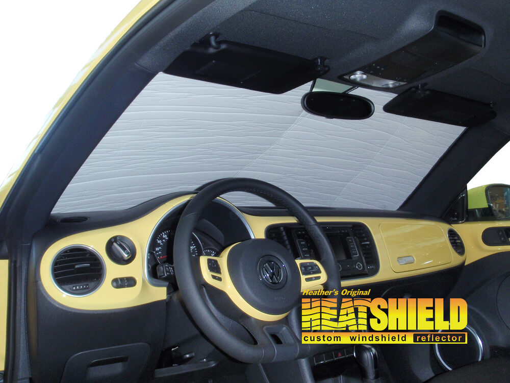 2013 Volkswagen Beetle Hatchback 3d Windshield Sun Shades