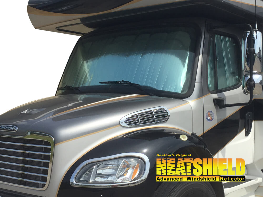 2016 Freightliner M2 Cab Special Windshield Sun Shades