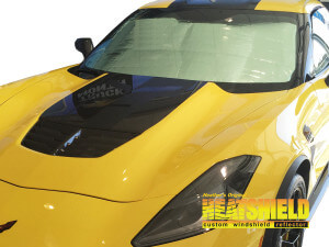 2017 Chevrolet Corvette Convertible Windshield Sun Shades