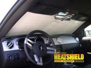 2006 Ford Mustang Convertible Windshield Sun Shades, Car