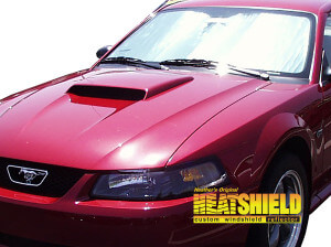 Windshield Sun Shade For 1994 2004 Ford Mustang Exterior View