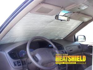 2002 Toyota Sienna Minivan Windshield Sun Shades Car